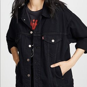 Levi's Forever Black Denim Jacket